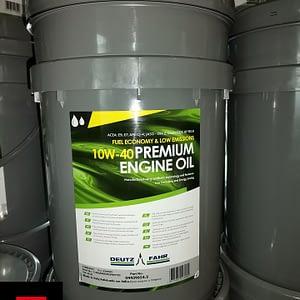 Oryginalny olej silnikowy Deutz-Fahr PREMIUM ENGINE OIL 10W-40 20 litrów 04439654.2