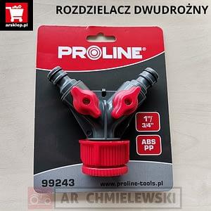 ROZDZIELACZ 2-DROŻNY PROLINE 99243