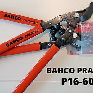 SEKATOR DWURĘCZNY BAHCO P16-60-F 600MM 30MM