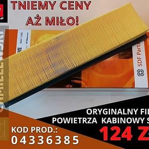 FILTR POWIETRZA KABINOWY SDF PARTS 04336385